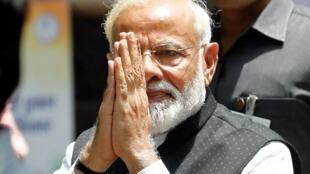 印度總理莫迪資料圖片