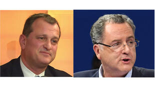 Louis Aliot et Richard Ferrand.