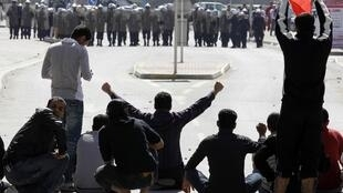 Small-scale clashes in Bahrain capital, Manama