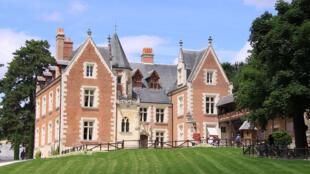 达芬奇最后的故居吕塞城堡外观