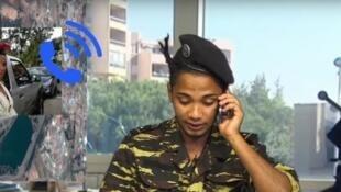 L'animateur Barry Benson a dû prendre la fuite après son émission parodiant des vidéos de la chaîne Youtube du président malgache.