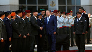 Israel's defence minister Avigdor Lieberman pictured last May