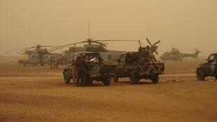 French special forces in Gao, northern Mali
