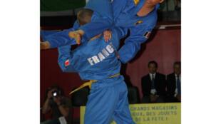 Bài thi đấu Tự vệ nữ của đội Pháp -Giải Vô địch thế giới Vovinam ngày 05/07/2013.