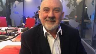 Henrique Faulhaber nos estúdios da RFI Brasil, em 14/11/2018.