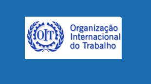 Logotipo da Organização Internacional do Trabalho.