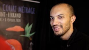 Fabien Dao, réalisateur franco-burkinabè de «Bablinga», présenté à l'édition 2020 du Festival international du court métrage de Clermont-Ferrand.