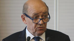 Глава МИДа Франции Жан-Ив ЛеДриан