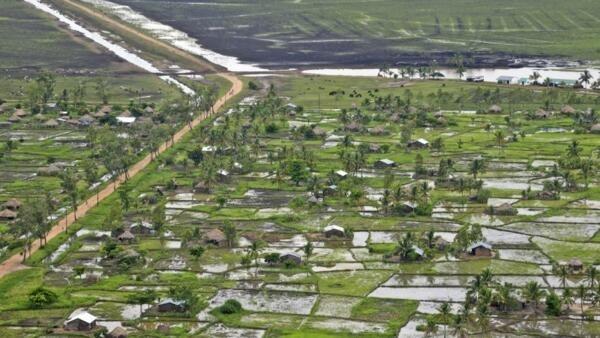 Cheias em Moçambique ( imagem de ilustração)
