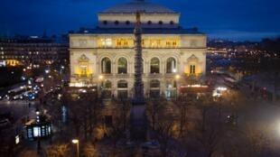 Theatre de la Ville in central Paris