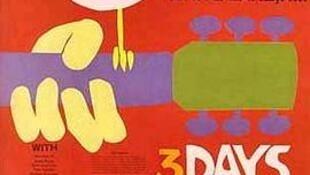 Áp phích cho lễ hội âm nhạc Woodstock năm 1969.