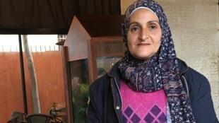 A ativista palestina-brasilera Ruayda Hussein Rabah