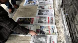 En Algérie, 400 000 exemplaires de journaux sont imprimés chaque jour. C'est six fois moins qu'il y a 10 ans.