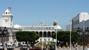 Kasbah square in Tunis