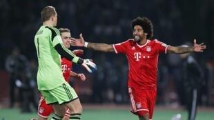Le Brésilien Dante a inscrit le premier but de la finale du Mondial des clubs, le 21 décembre 2013.
