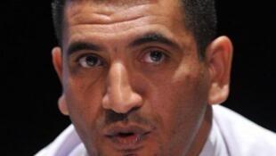 Le secrétaire général de l'Union démocratique et sociale algérienne Karim Tabbou, ici en 2011, a été arrêté.