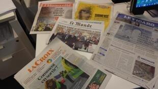 Diarios franceses  03.12.2018