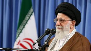 L'ayatollah Ali Khamenei le 17 mai 2017 à Téhéran.