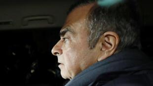 Бывший глава автомобильного концерна Renault-Nissan Карлос Гон.