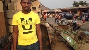 Brahima Diallo, un migrant guinéen installé au Nigeria depuis huit ans.
