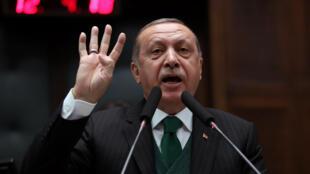 رجب طیب اردوغان رییس جمهوری ترکیه