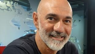 Sebastian Margulis en los estudios de RFI