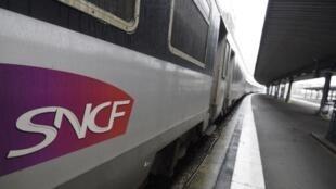 A train waits at Paris's Austerlitz mainline station
