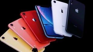 CEO Tim Cook apresenta o novo iPhone 11 em 10 de setembro de 2019.