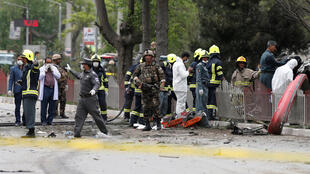 阿富汗首都喀布尔美国大使馆附近2017年5月3日清晨发生自杀爆炸袭击。
