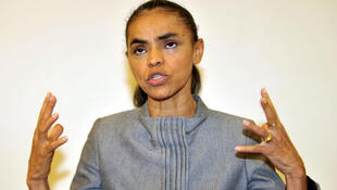 A ex-candidata do PV Marina Silva.