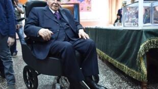 Действующий президент Алжира Абдельазиз Бутефлика в 2017 году