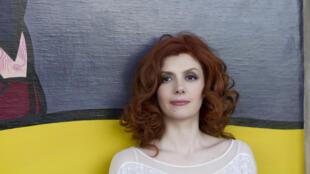 Portrait de la soprano Patricia Petibon, marraine de l'édition 2016 de l'évènement «Tous à l'Opéra».