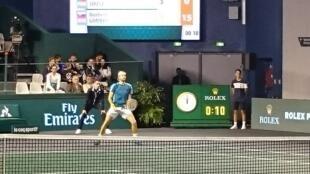 João Sousa, Tenista luso no Masters de Paris, em Bercy, 28 de outubro, 2017