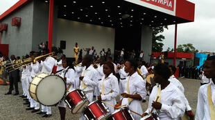 Opening of CanalOlympia cinema in Yaoundé, Cameroon