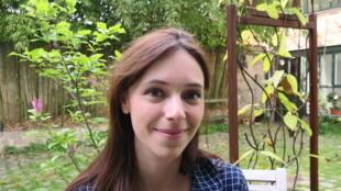 Lolita Séchan, tác giả tập truyện tranh Les Brumes de Sapa (Sương mù Sa Pa, NXB Delcourt, 2016).
