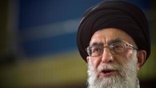 Ảnh minh họa : Lãnh đạo tối cao Iran, giáo chủ Ali Khamenei. Ảnh 2009.