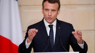 Os franceses têm dificuldade de acompanhar o ritmo das reformas apresentadas peloa presidente Emmanuel Macron
