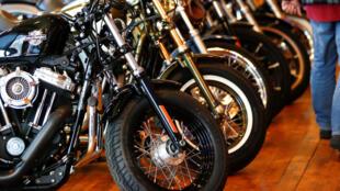 L'Europe est le premier débouché à l'étranger pour Harley Davidson. Ici à Londres.
