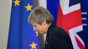 លោកស្រី Theresa May នាយករដ្ឋមន្ត្រីអង់គ្លេស (១៣កក្កដា ២០១៦-២៤កក្កដា ២០១៩)