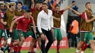 Hervé Renard et le Maroc ont décroché leur première victoire dans les éliminatoires du Mondial 2018
