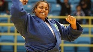 A judoca brasileira Maria Suelen Altheman