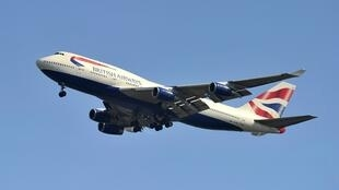 Самолет Boeing 747 авиакомпании British Airways