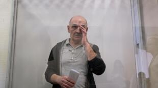 Владимир Цемах 5 сентября, в день когда суд в Киеве принял решение освободить его. 7 сентября украинского гражданина Цемаха передали России