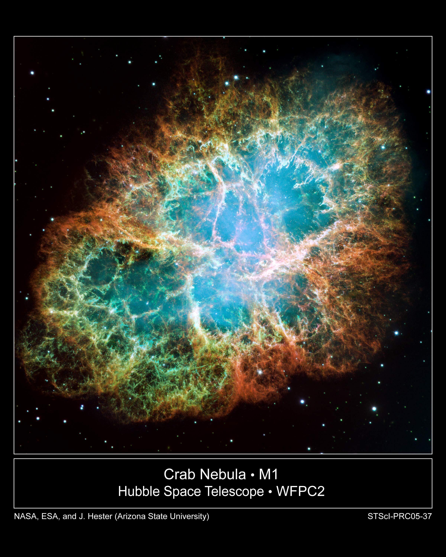 ណេប៊ុយឡាក្តាម (Crab Nebula/Nébuleuse de Crabe) ដែលមានមុខកាត់រហូតដល់ទៅប្រមាណជា ៦ឆ្នាំពន្លឺ គឺជាអ្វីដែលបន្សល់ទុកដោយការផ្ទុះស៊ូពើណូវ៉ា ដែលតារាវិទូចិនធ្លាប់បានសង្កេត និងកត់ត្រាទុក តាំងពីជិត១ពាន់ឆ្នាំមុន (ឆ្នាំ១០៥៤គ.ស.)។