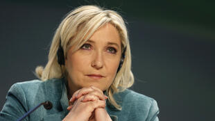 France's far-right National Front leader Marine Le Pen