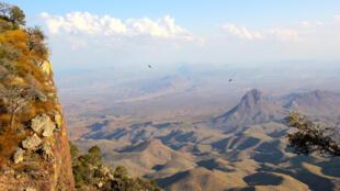 Montagnes du parc national de Big Bend, au sud du Texas.