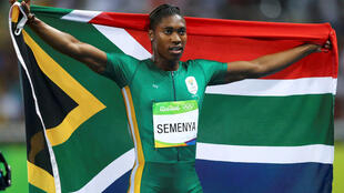 Caster Semenya is also competing in the 800m at the world championships.