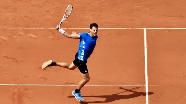Dominic Thiem reached the final in 2018.