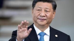 中國國家主席習近平11月14日於巴西照片。