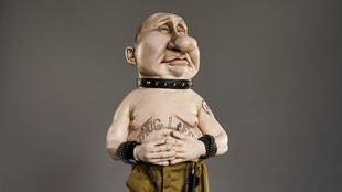BRITAIN MEDIA TV SPITTING IMAGE Russie Putin Poutine puppet